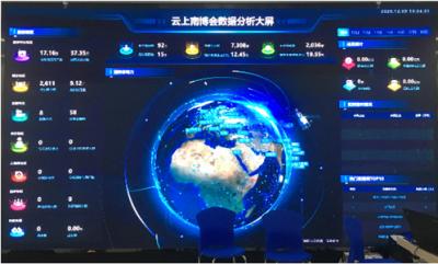 """区块链签约大数据撮合 来看""""云上南博会""""有多少新科技"""