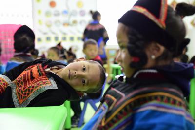【决胜2020】昭觉县洒拉地坡乡幼儿园辅导员:学好普通话彝族孩子们才有机会走出大山