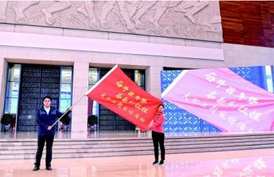 """黄坤明出席""""奋斗百年路 启航新征程""""大型主题采访活动启动仪式强调鲜活讲好中国共产党的故事,齐声唱响共产党好的主旋律"""