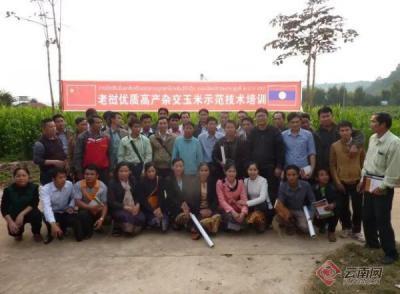 云南省著名玉米专家番兴明荣获老挝人民民主共和国杰出贡献奖
