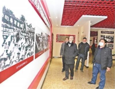 湖北黄陂:朱铺村党史教育馆成汲取力量的源泉