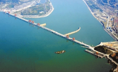 三峡水库去冬今春累计为长江中下游补水超70亿立方米