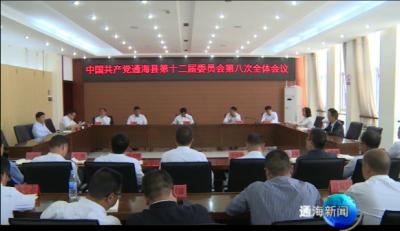 县委召开第十二届委员会第八次全体会议