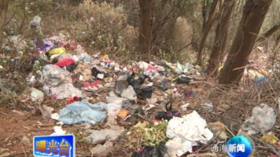 曝光台: 者湾至四寨村道路环境卫生实在差