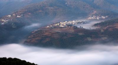 每日一景|云南通海:家门口流过的云河