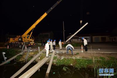 江苏遭遇强对流天气袭击 11人死亡
