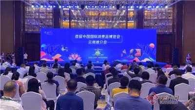 展示七彩云南形象 深化开放交流合作 王予波率团参加首届中国国际消费品博览会