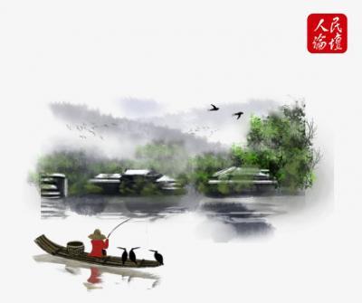 人民论坛漫评 | 绘就人与自然和谐共生的现代化美丽画卷