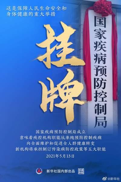 新华网评:这个新机构,为保护人民健康加码