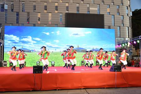 【庆祝中国共产党成立100周年】  我县举行庆祝中国共产党成立100周年文化惠民专场演出