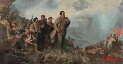 庆祝中国共产党成立100周年美术作品展在中国美术馆开幕