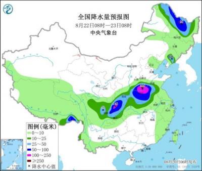 本轮降水过程将继续影响东北江淮等地 局地有暴雨
