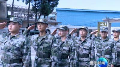 我县四十余名应征入伍青年即将奔赴军营