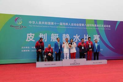 玉溪人普毅获得全国残运会两枚金牌