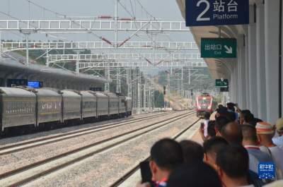 铁路首次环行原中央苏区
