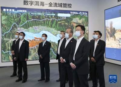 韩正在云南调研时强调 坚持生态优先绿色发展 争当生态文明建设排头兵
