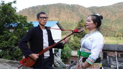 非遗传承人刘琼:让疫情防控的歌声 传到村村寨寨