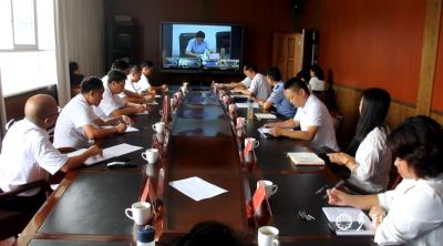 金平县设分会场参加红河州首次社区治理网络议政远程协商会