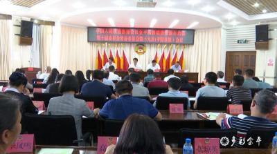 金平县政协第十届委员会常务委员会召开第十九次(专题议政)会议