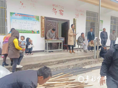 【换届选举】金平县农场社区第二次居民小组会议在各队召开