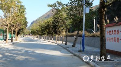 金水河镇隔界村基础设施焕然一新