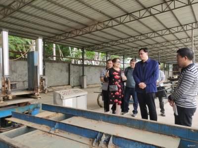 吴华昊率队到金平农场召开招商引资项目落地现场办公会议