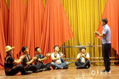红河金平:移民管理警察打造边疆特色警营文化献礼建党100周年