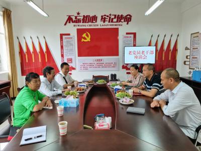 金平县审计局召开庆祝建党100周年老党员座谈会