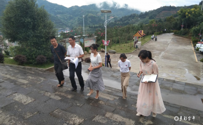州司法局副局长韩家和到金平县司法局调研花果山法治主题公园建设情况