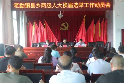老勐镇召开县乡两级人大换届选举工作动员会