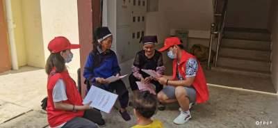 金水河镇:抗击疫情添力量   志愿者在行动