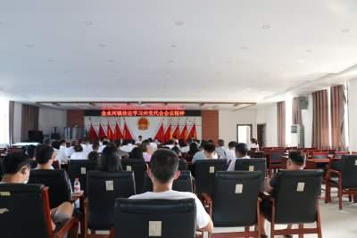 金水河镇学习贯彻红河州第九次党代会会议精神