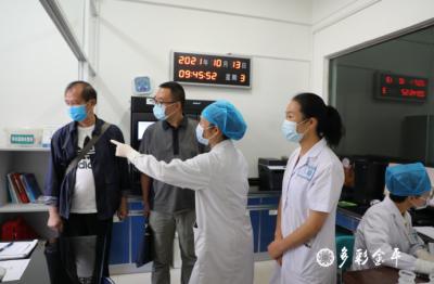 红河州卫健委专家组赴金平县人民医院开展病原微生物实验室生物安全检查