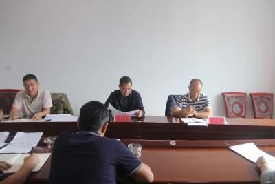 曹福顺一行到老勐镇调研县乡两级人大换届选举工作推进情况
