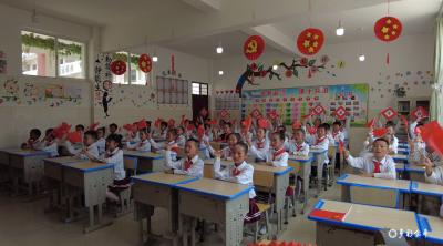 多彩文化润心田  童心向党悦成长 ——金平县第一小学举行2021年班级文化展演