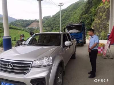 杨金松到各乡镇调研检查COP15安保维稳工作